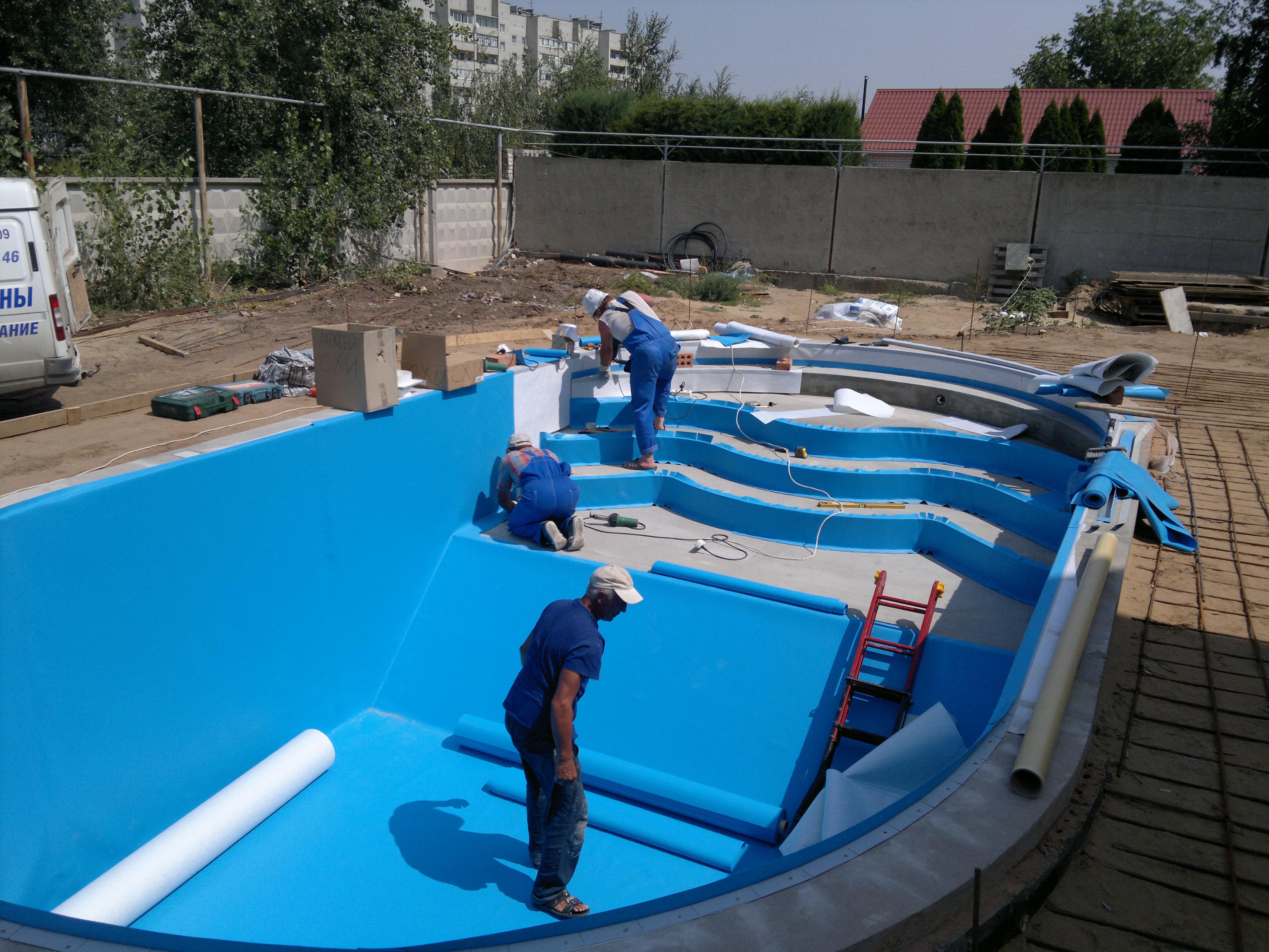 Нюансы при строительстве бассейнов